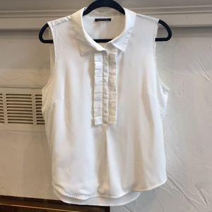 Tommy Hilfiger sleeveless white blouse